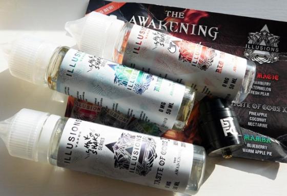 Illusions Vapor Awakening E-Liquids Review – Have They Awakened My Taste Buds